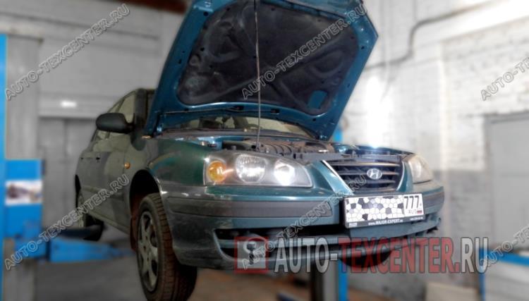 Замена рычагов Hyundai Elantra
