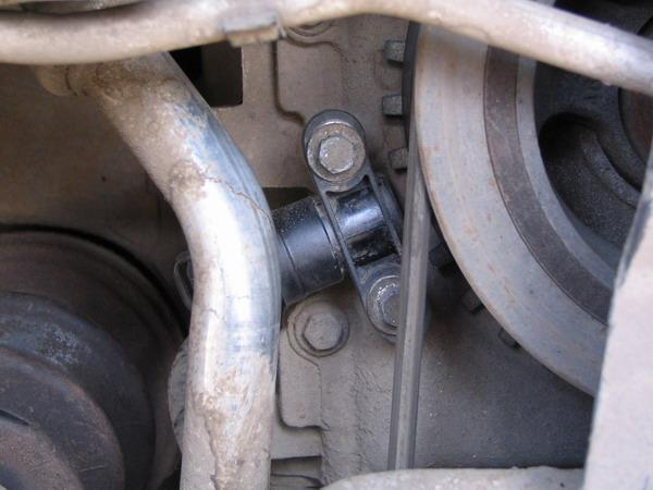 Датчик положения коленчатого вала на двигателях 1,8 и 2,0 л R4 Duratec-HE 16V Ford Focus 2