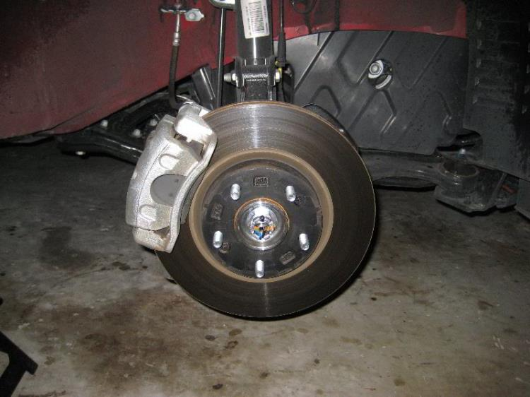 Передняя арка колеса на Hyundai Santa Fe CM 2006-2012