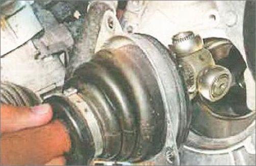Снятие, замена, установка ШРУСа Renault Logan