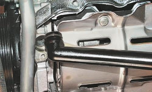Снятие и установка масляного насоса Ford Fusion Fiesta