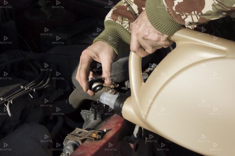 Замена масла заднего редуктора (моста) Ford Ka в Тюмени