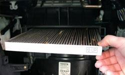 Замена салонного фильтра Chevrolet Tahoe