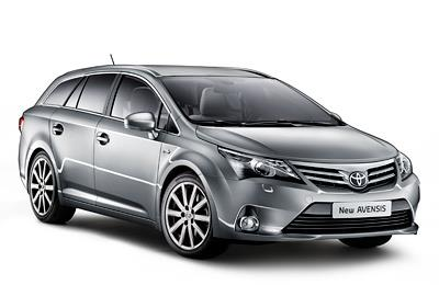 Замена стекла на Toyota Avensis