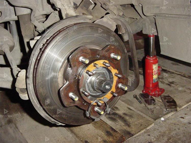 Замена подшипника задней ступицы Toyota Highlander во Владивостоке