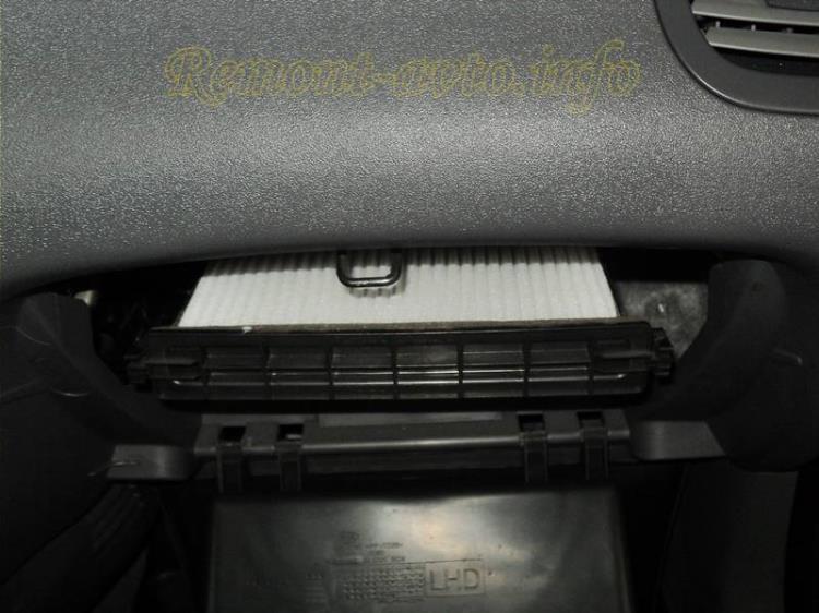 замена воздушного фильтра киа пиканто