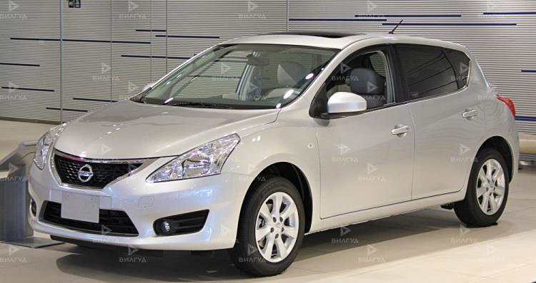 Замена сайлентблоков задней балки Nissan Tiida в Волгограде