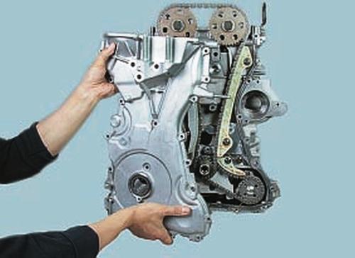 Замена сальников коленчатого вала Ford Fusion Fiesta