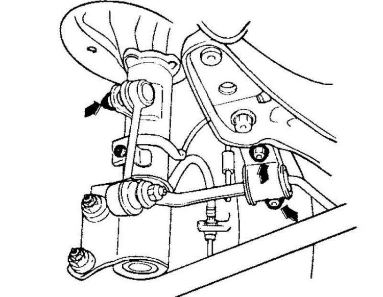 Кронштейны стабилизатора Hyundai Matrix