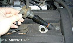 Замена свечей зажигания Chevrolet Captiva