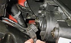 Замена ламп Chevrolet Spark Classic