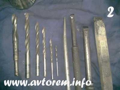 Инструмент необходимый для замены шаровой опоры Ланос, Нексия