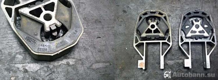 замена неисправной подушки двигателя Форд Фокус 2