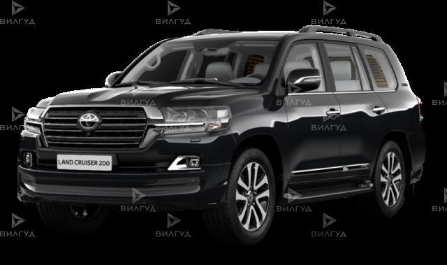 Замена пыльника шруса Toyota Land Cruiser в Тюмени