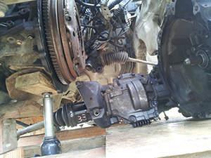 Замена сцепления Toyota RAV 4: фото работ автосервиса ДжапСервис в Москве №2