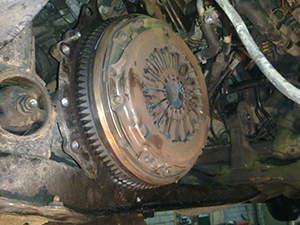 Замена сцепления Toyota RAV 4: фото работ автосервиса ДжапСервис в Москве №1