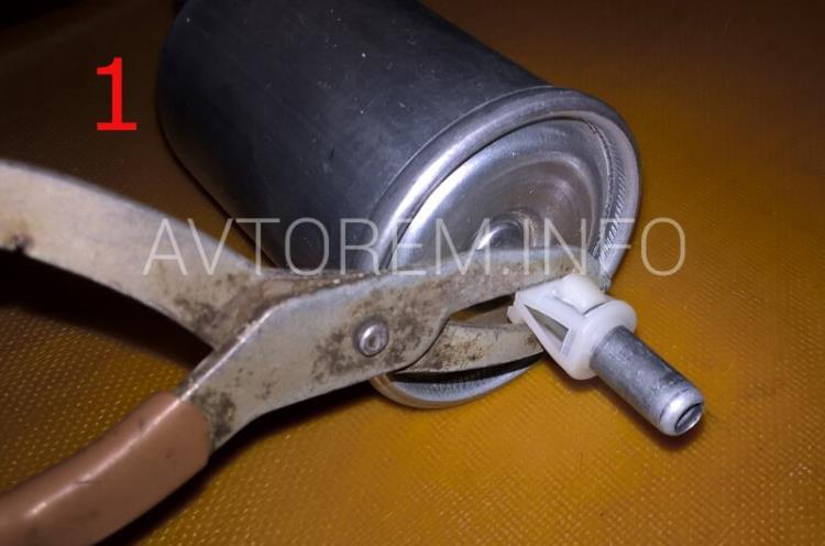 инструмент для замены топливного фильтра ланос