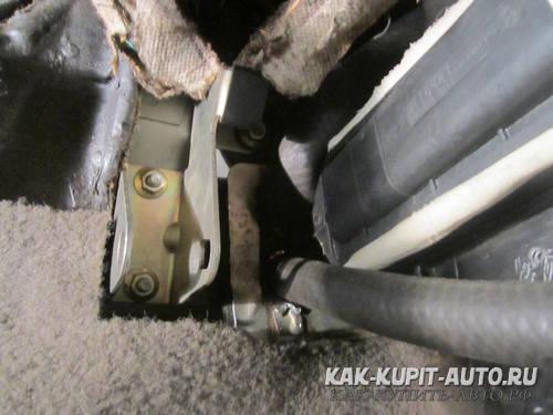Установка радиатора печки Калина