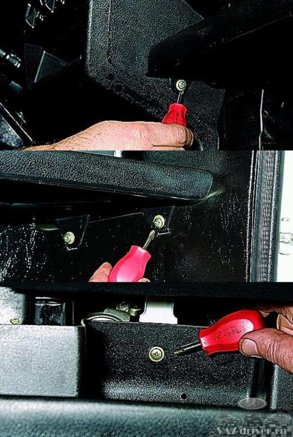 Замена вентилятора печки ваз 21213 своими руками 10