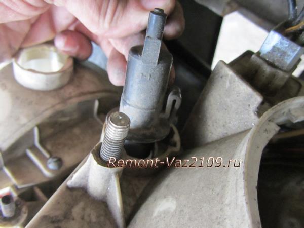 снятие корректора фар на ВАЗ 2109-2108