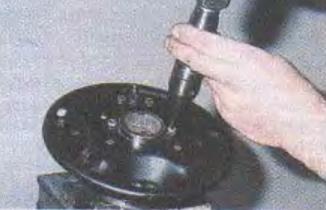 Мероприятия по снятию оси ступицы