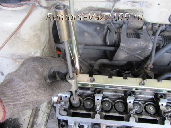 замена маслосъемных колпачков на ВАЗ 2109-2108