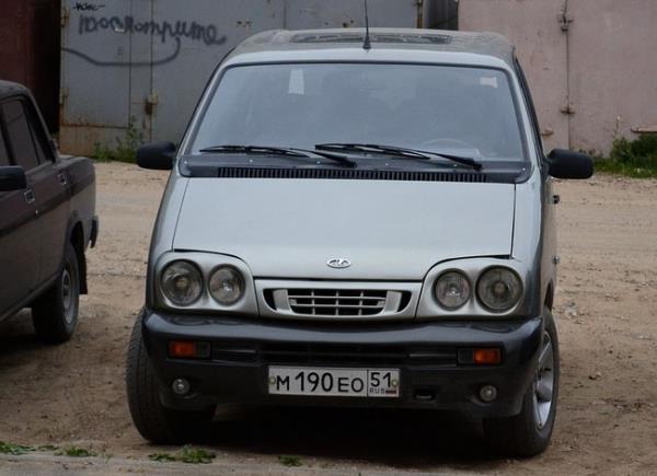 ВАЗ-2120M «Надежда» (Lada-2120M) (ранний вариант оформления)