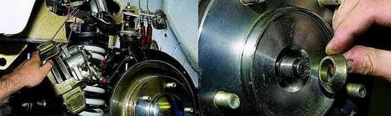 Как снять ступицу переднего колеса Нива 2121 2131