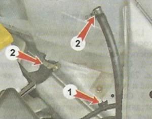 Снятие и установка расширительного бачка на LADA Granta