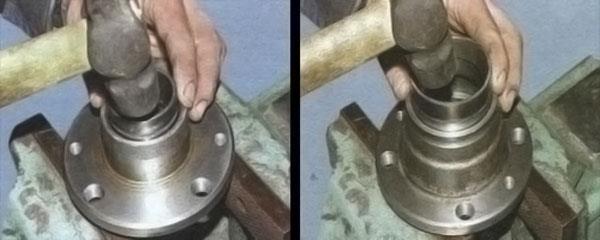 Видео.замена подшипников передней ступицы ваз 2106 своими руками 470