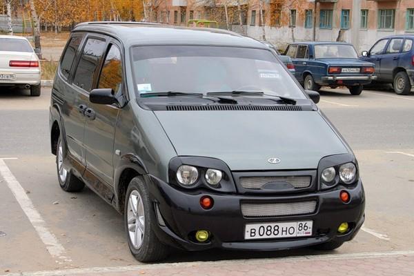 Машина ВАЗ-2120 «Надежда» (Lada-2120) фото тюнинга