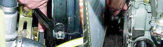 Проверка ремня привода насоса охлаждающей жидкости Нива 2121