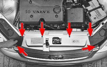 Операции выполняемые при снятии и установке переднего и заднего бампера ВАЗ 2170 2171 2172 Лада Приора