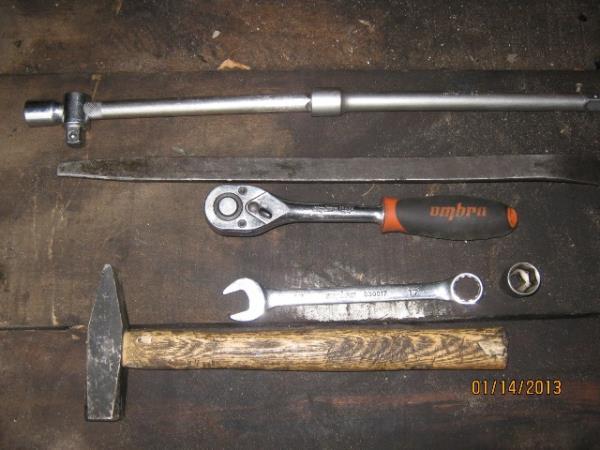 инструмент для замены рулевой колонки на ВАЗ 2107
