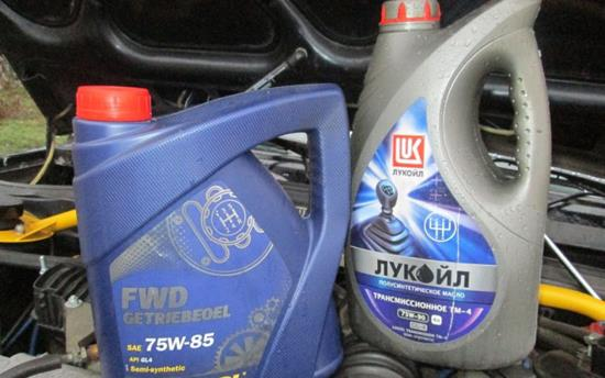 трансмиссионное масло для кпп ВАЗ 2115