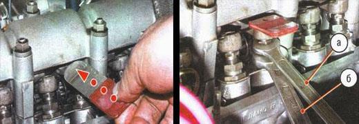 регулировка клапанов на автомобиле ваз 2106