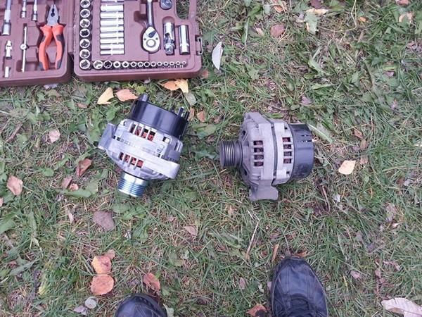 Замена генератора Лада Приора