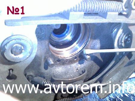 ремонт подшипника задней полуоси на автомобилях ВАЗ 2101, ВАЗ 2106, ВАЗ 2107, Классика