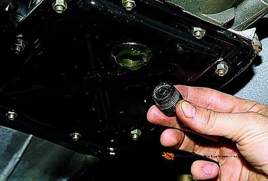 Сливная пробка КПП Ваз-2105