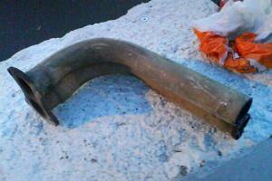 Фото ржавых трубок автомобильного радиатора, rovermg.ru
