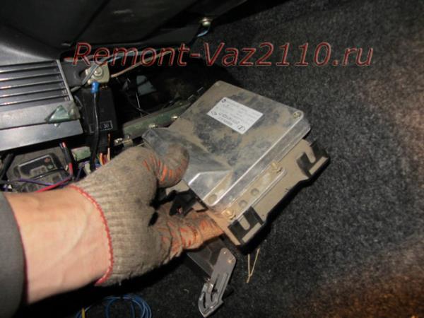 замена ЭБУ на ВАЗ 2110-2112