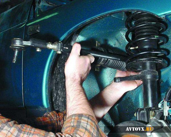 Демонтаж рулевой рейки ВАЗ 2110