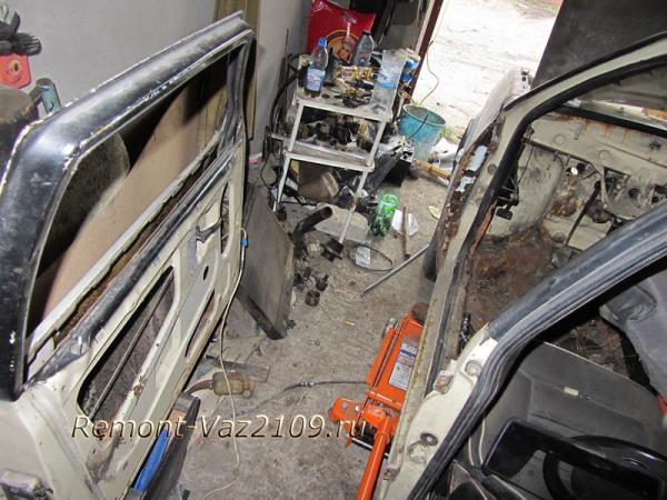 ВАЗ 2109-2108 без двери
