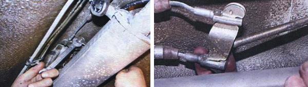 Замена ручника ваз 21093