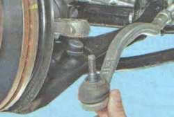 Замена рулевой тяги Лада Ларгус