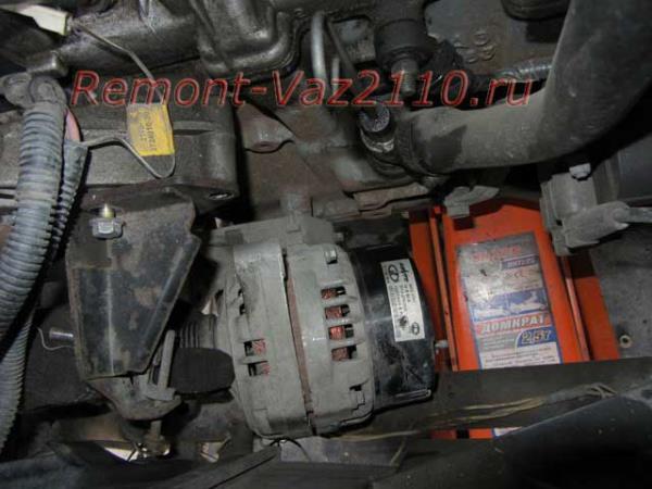 снятие генератора на ВАЗ 2110 и установка