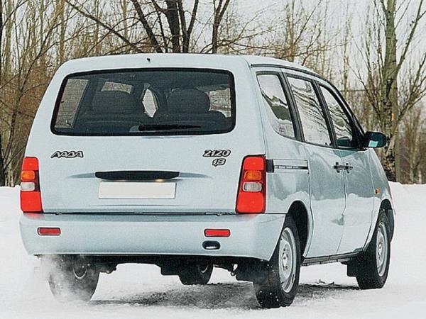 Модификация ВАЗ (Lada) 2120 Надежда 2120м рестайлинг 4-дв. 1.7 MT (84hp) в кузове минивэн: характеристики