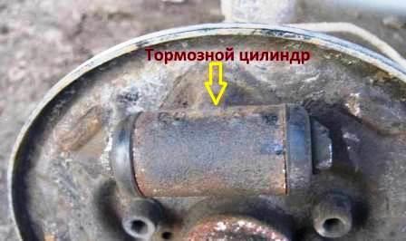 Тормозной цилиндр на ВАЗ 2110, 2111, 2112