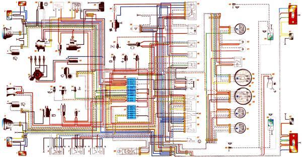 схема электрооборудования ваз 21214 инжектор нива