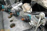 форсунки на топливной рампе ВАЗ 2110